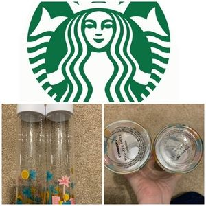 2 new Starbucks Florida water bottles collection